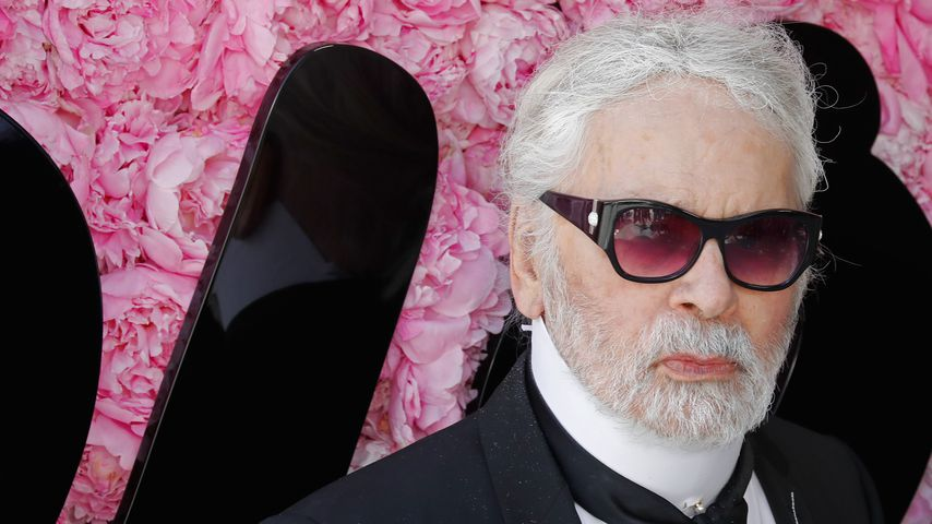 Karl Lagerfeld in Paris 2018