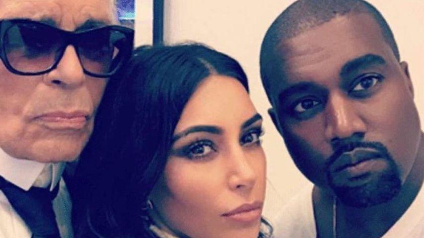 Er hätte Geburtstag: Kim Kardashian gratuliert Lagerfeld (†)