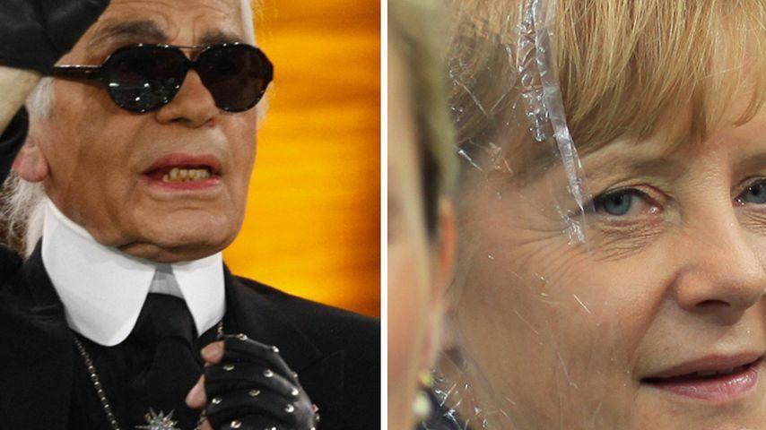 Angela Merkel vs. Karl Lagerfeld: 1:0 für die Mode