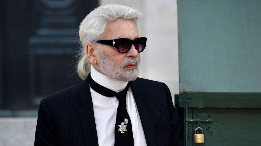 Karl Lagerfeld 2018 in Paris