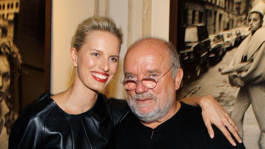 Karolina Kurkova und Peter Lindbergh , September 2013