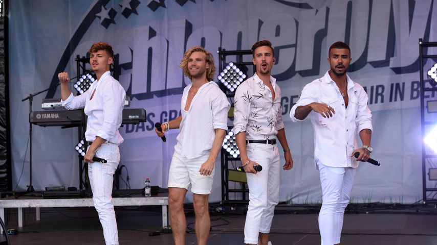 Karsten Walter, Matt Stoffers, Sebastian Wurth und Dominique Bircan Baltas