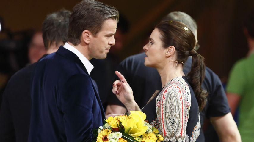 Markus Lanz und Katarina Witt