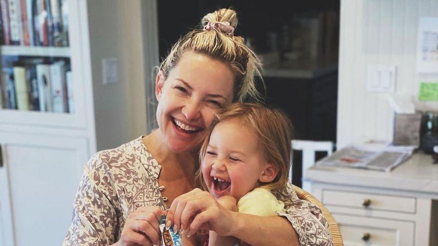 Kate Hudson mit ihrer Tochter Rani