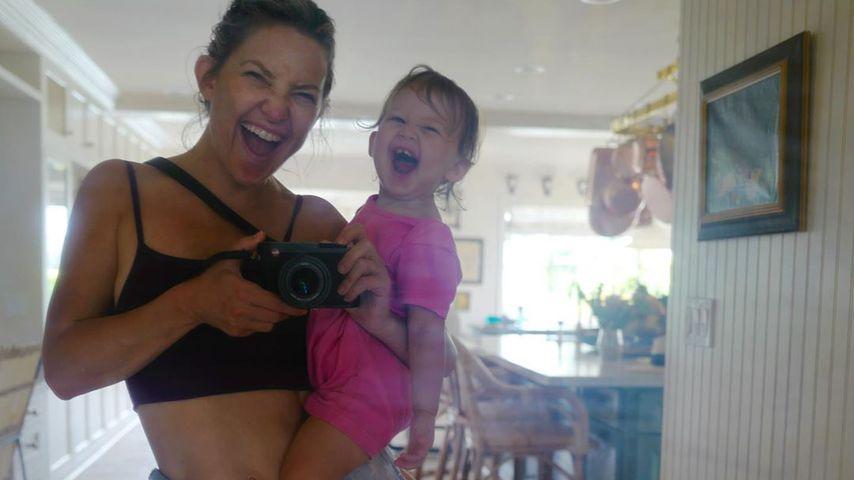 Kate Hudson und ihre Tochter Rani im Mai 2020