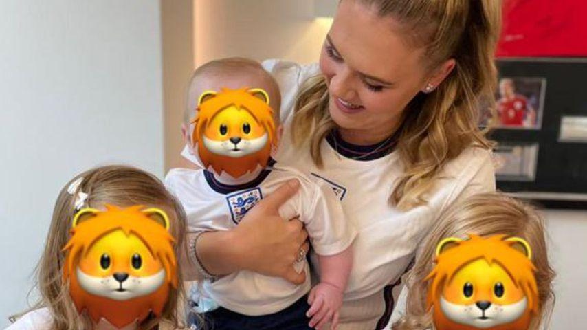 """""""Unsere drei Löwen"""": Harry Kanes Familie drückt die Daumen"""