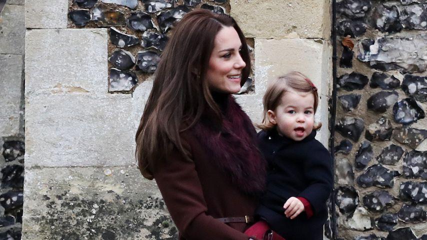 Mini-Me: Prinzessin Charlotte ist Mama Kates goldige Kopie!