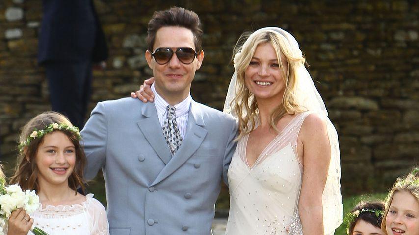 Kate Moss gab Jamie im Traum-Kleid das Ja-Wort!