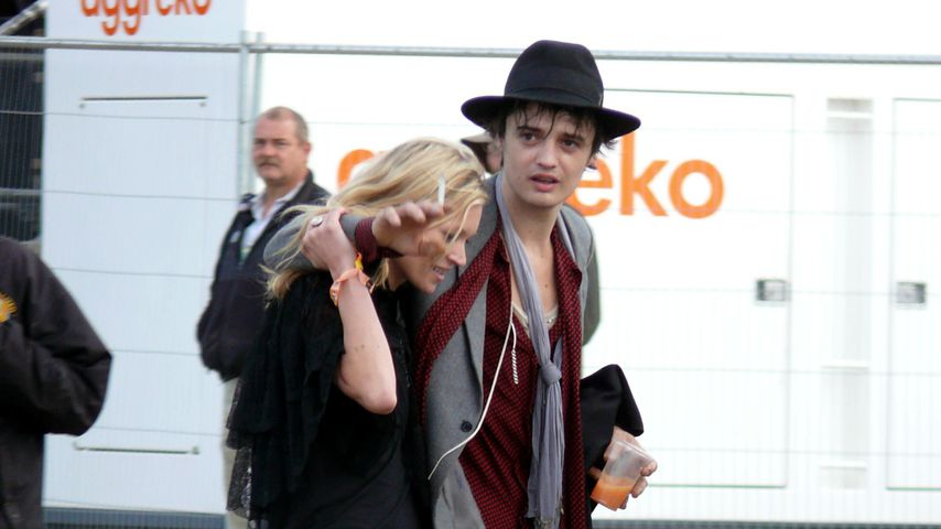 Kate Moss und Pete Doherty, 2007