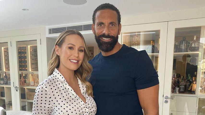 Kate und Rio Ferdinand, Juni 2020