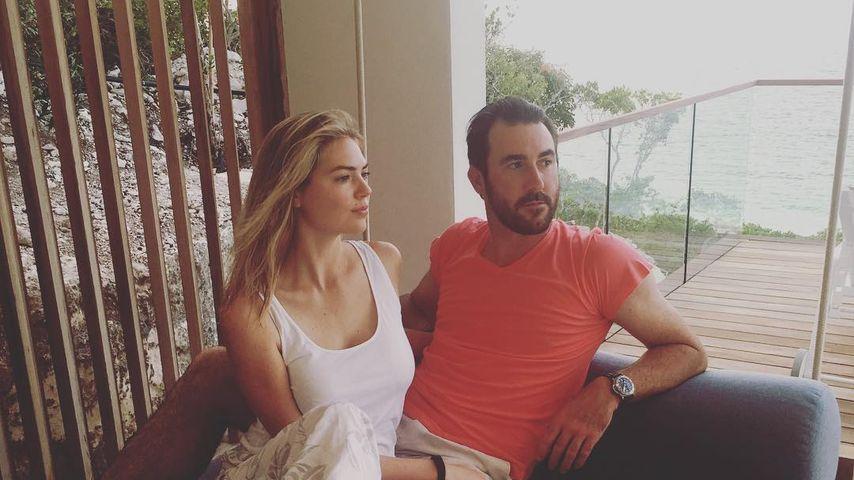 Kate Upton und Justin Verlander im Urlaub