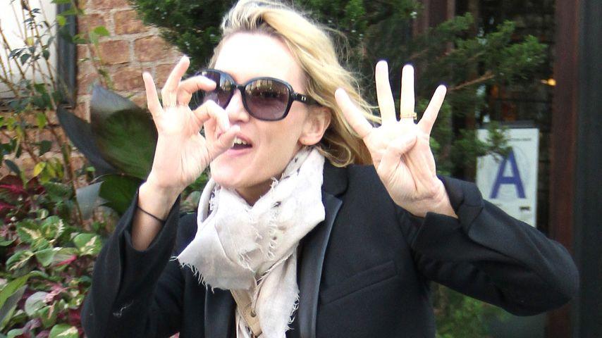So ausgelassen feierte Kate Winslet ihren 40. Geburtstag