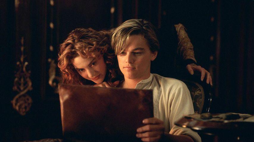 """Kate Winslet und Leonardo DiCaprio in """"Titanic"""""""