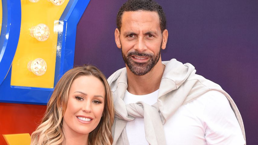 Kate Wright und Rio Ferdinand in London, Juni 2019