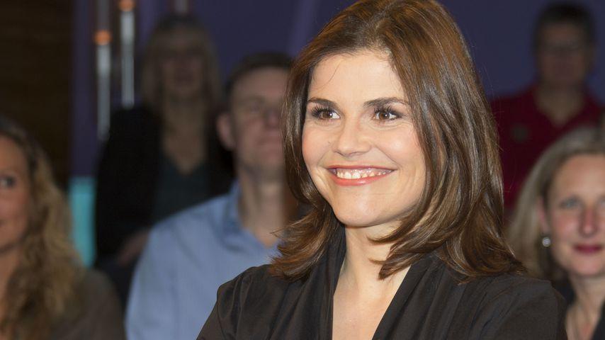 Schauspielerin Katharina Wackernagel bei der NDR Talkshow, 2015