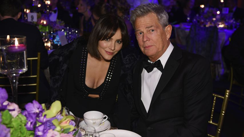 Katharine McPhee und David Foster im Oktober 2018 in New York