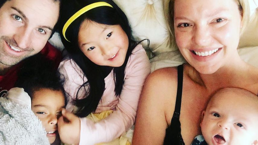 Unfassbar süß: Katherine Heigl kuschelt mit ihren Liebsten