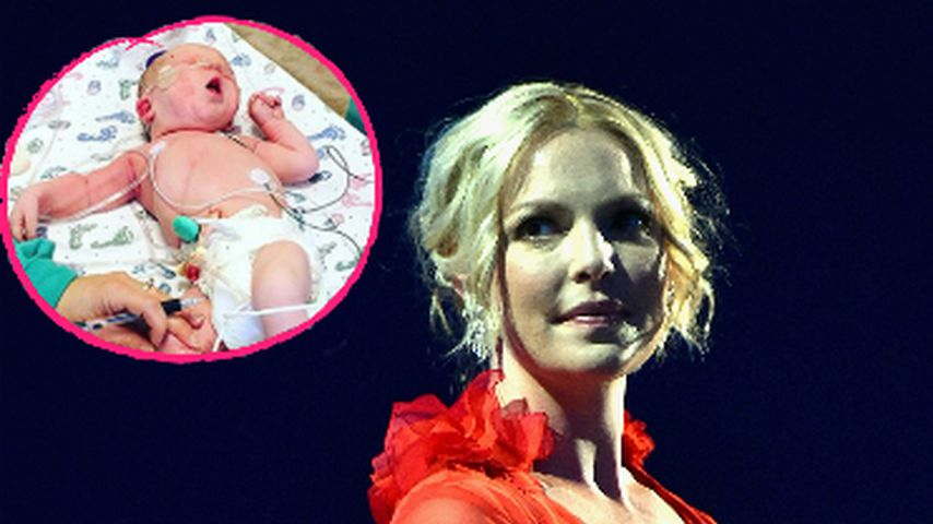 """Katherine Heigls dramatische Geburt: """"Er atmete nicht!"""""""