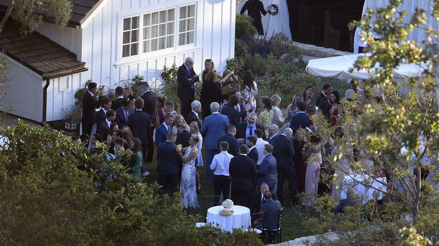 Katherine Schwarzenegger und Chris Pratts Hochzeitsempfang