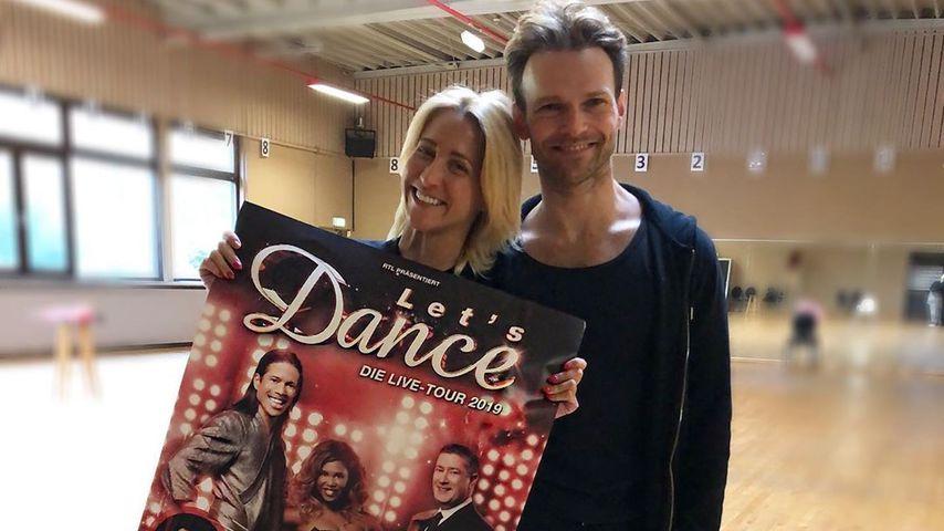 """Kathrin Menzinger und Vadim Garbuzov, """"Let's Dance""""-Profitänzer"""