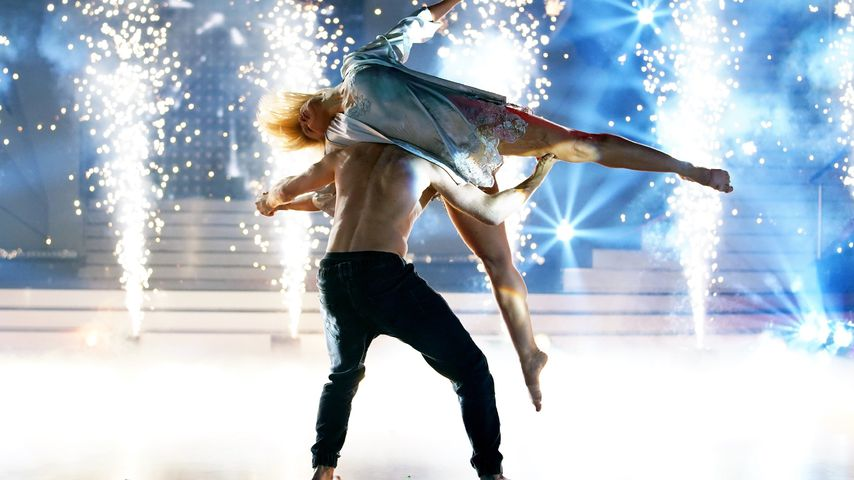 """Kathrin Menzinger und Vadim Garbuzov bei """"Let's Dance – die große Profi-Challenge"""""""