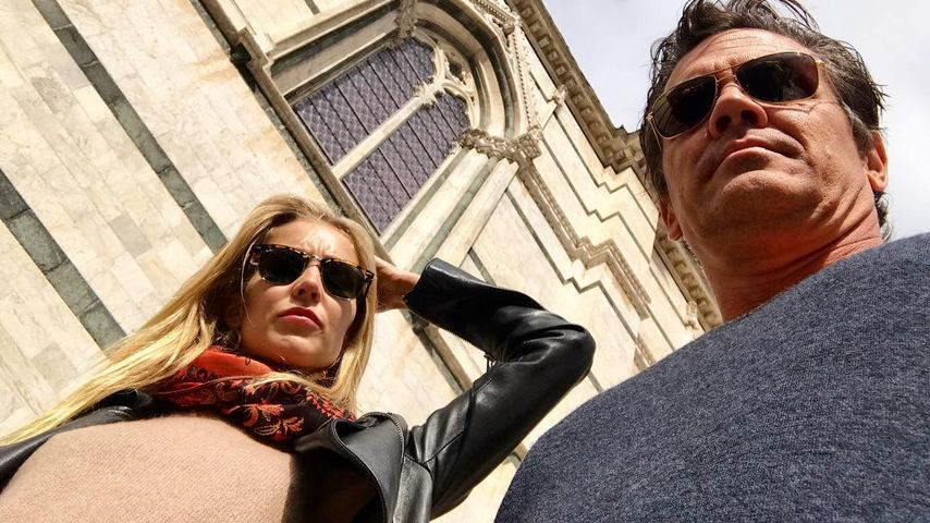 Kathryn Boyd und Josh Brolin auf Städtetour