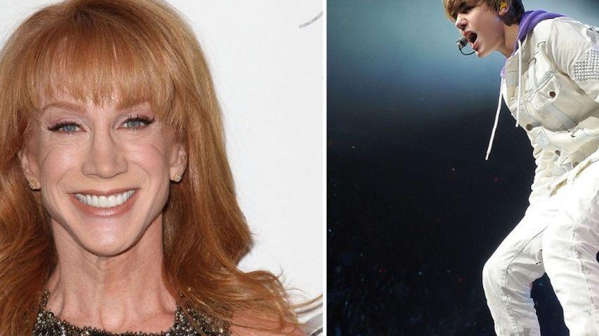 Justin Bieber mit Bong? Kathy Griffin will es so!