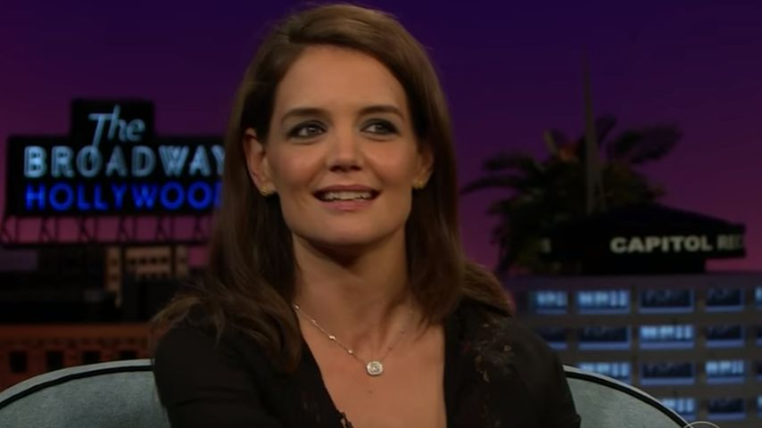 """Katie Holmes verrät: Ihr 1. Kuss war bei """"Dawson's Creek"""""""