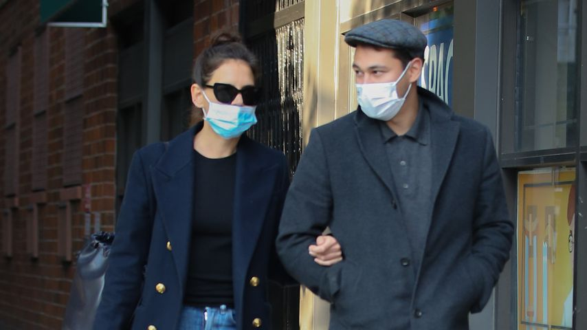 Katie Holmes und Emilio Vitolo in New York