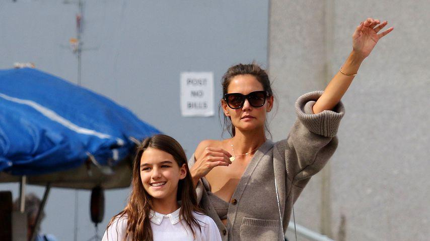 Katie Holmes und ihre Tochter Suri, August 2019