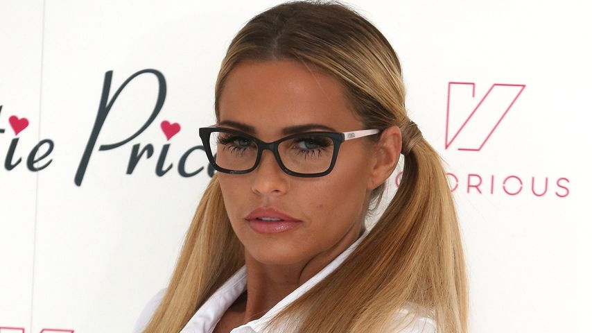 "Katie Price bei der Präsentation ihrer App ""Katie Price Official"" in London"