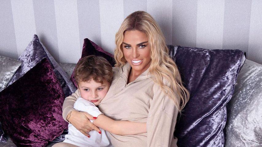 Katie Price mit ihrem Sohn Jett