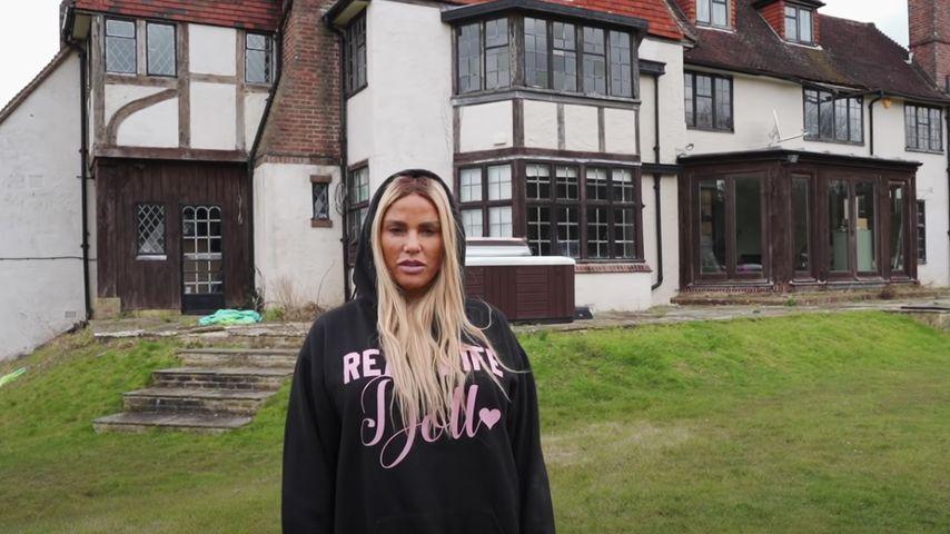 """""""Hier spukt es"""": Besitzt Katie Price etwa ein Geisterhaus?"""