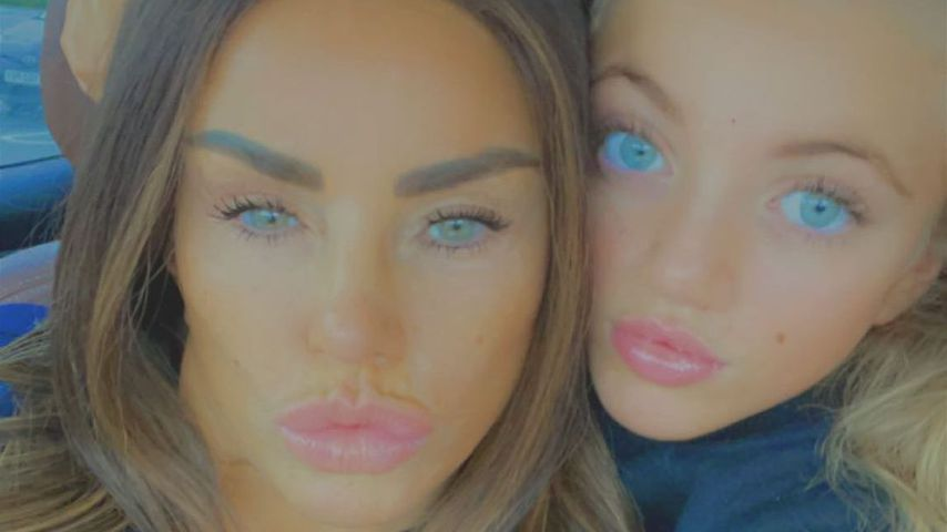 Wegen Mama Katie Price: Princess will keine Beauty-Operation