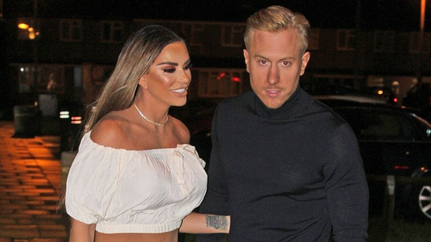 Katie Price und Kris Boyson ganz verliebt in Essex im November 2019
