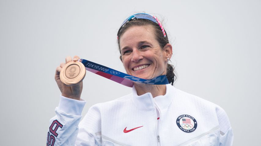 US-Olympionikin sah bei Wettkampf ihren verstorbenen Vater