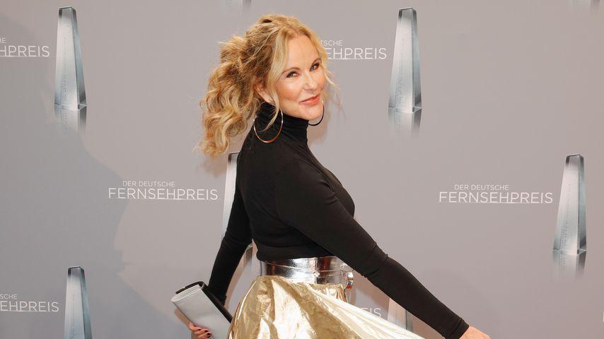 Katja Burkard beim Deutschen Fernsehpreis 2018