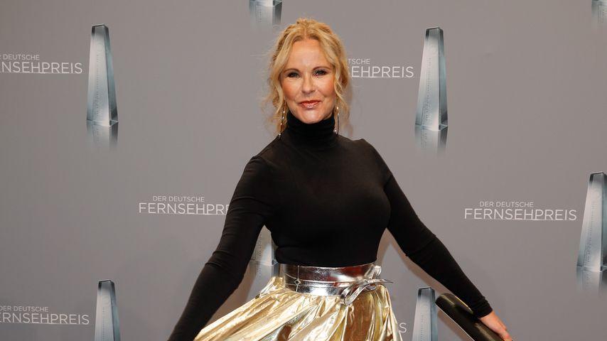 Katja Burkard beim Deutschen Fernsehpreis in Köln im Januar 2018