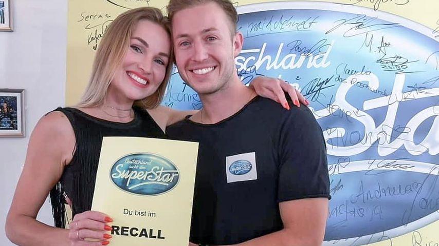 Katja Kalugina mit ihrem Freund Jonas Graf