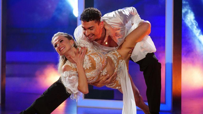 """Katja Kalugina und Andrzej Cibis bei """"Let's Dance"""""""