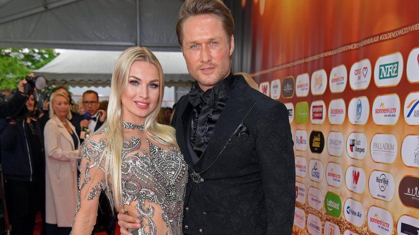 Katja Kalugina und Nico Schwanz im April 2019