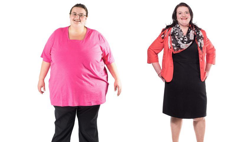 """Extrem schwer"": Katrin wiegt jetzt 85 Kilo weniger!"
