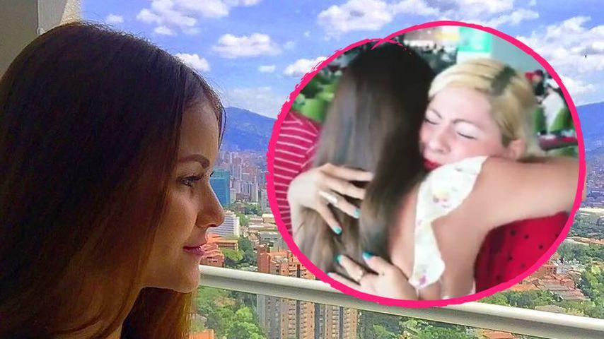 Zu Xmas: Kattia Vides überrascht ihre Familie in Kolumbien!