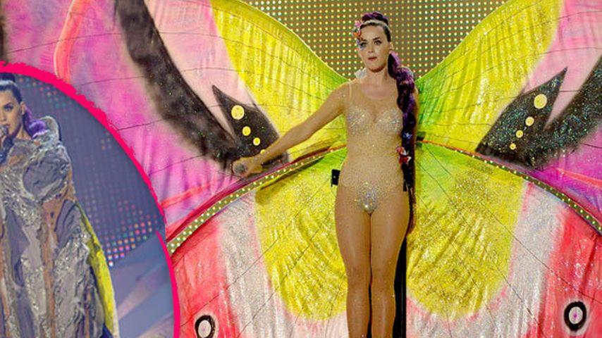 Katy Perry wird von einer Raupe zum Schmetterling