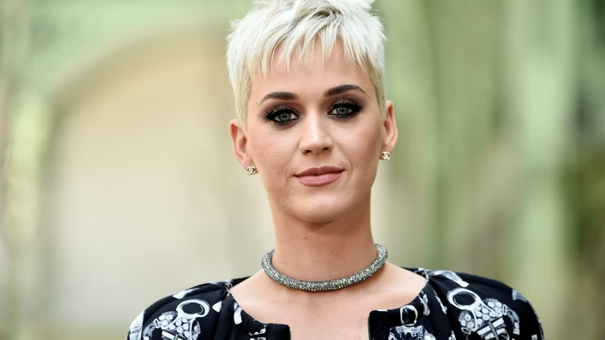 Katy Perry auf der Fashion Week in Paris im Juli 2017