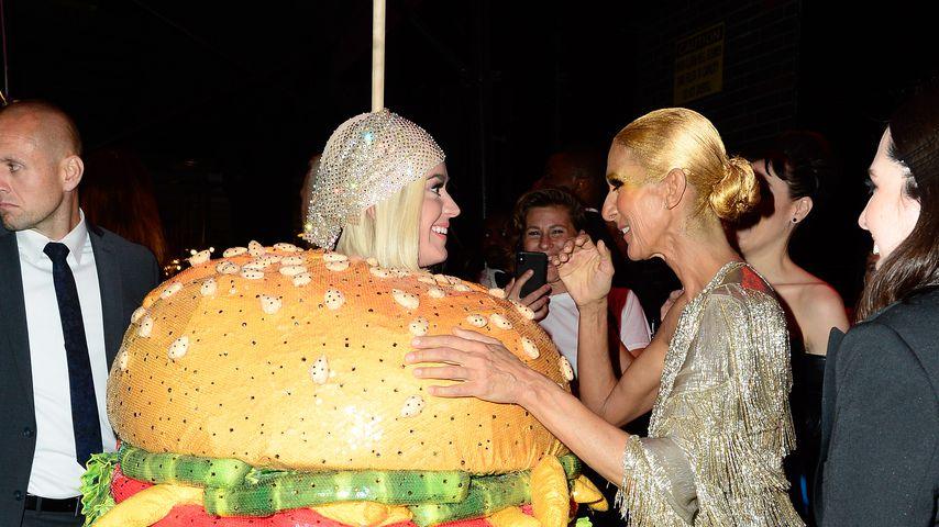 Katy Perry und Celine Dion, Mai 2019