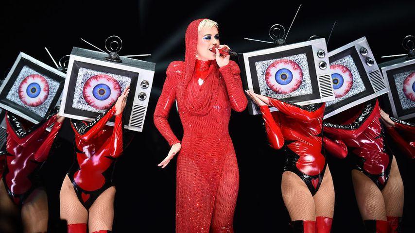 Katy Perry bei einem Konzert in New York