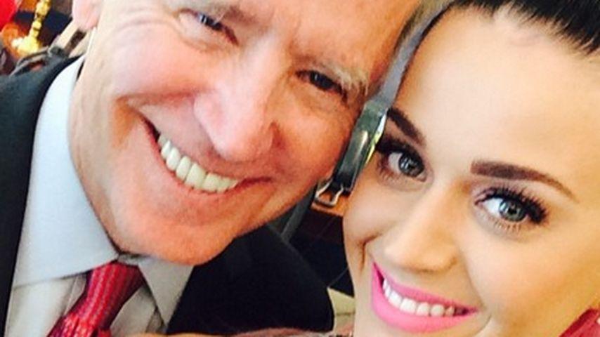 Selfie im Weißen Haus: Katy Perry rockt Washington