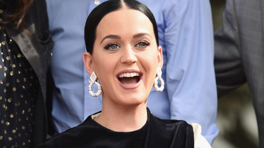 Katy Perry bei einer Ehrung auf dem Walk of Fame