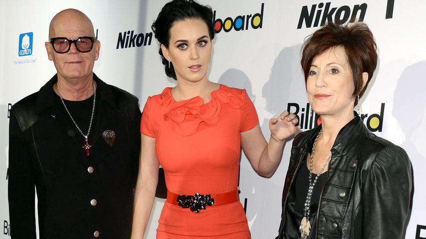 Von Flammen bedroht: Katy Perrys Eltern an B-Day evakuiert!